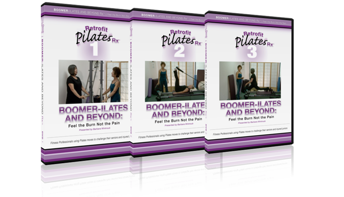 Boomer-ilates DVD set