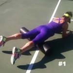 Roll Away Your Leg Pain …